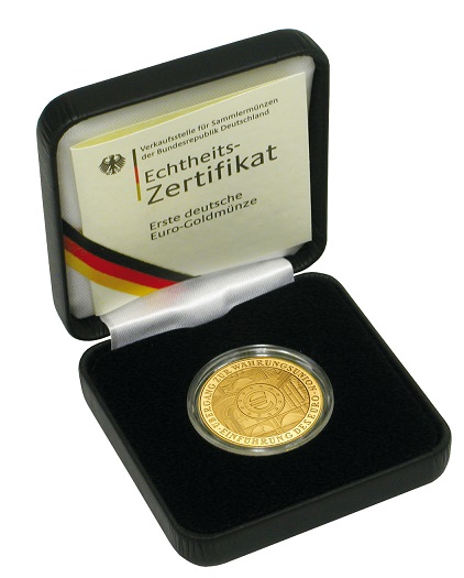 100 euro l beck 2007 silber gold verkauf. Black Bedroom Furniture Sets. Home Design Ideas
