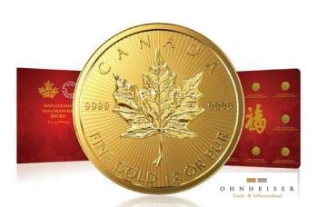 25 x 1 gramm maple leaf maplegramm silber gold verkauf. Black Bedroom Furniture Sets. Home Design Ideas